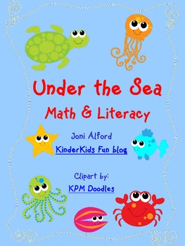 Under the Sea - Math & Literacy