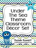 Under the Sea Ocean Theme Classroom Decor Set