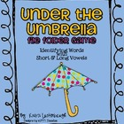Under the Umbrella- Short and Long Vowels File Folder Game
