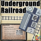 Underground Railroad Lapbook (foldable items included)