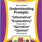 Understanding Prompts: Expository, Narrative, & Persuasive