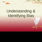 Understanding and Identifying Bias PowerPoint Lesson Activity