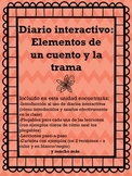 Interactive Reading Notebook: Parts of a Story/Plot  ( Spanish )