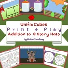 Unifix Cubes Print & Play Addition to 10 Story Mats