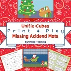Unifix Cubes Print & Play Missing Addend Mats