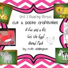 Unit 1 Reading Street Craftivities Pt 2- Stories 1.4, 1.5, 1.6