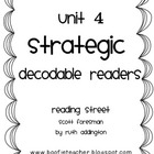 Unit 4 Fluency Passages STRATEGIC Decodable Readers Readin