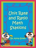 Unit Rates and Ratios Stations - Math Centers