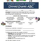 United States ABC Project Activity for Social Studies and Writing