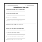 United States Map Quiz