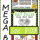United States Money Mega Bundle Clip Art Set