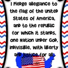 United States Pledge Poster