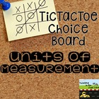 Units of Measurement TicTacToe Extension Activities
