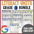 Units of Study Bundle: Grade 3 {8 Months of Reading & Writ