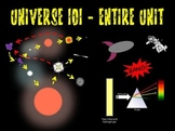 Universe 101 Whole Unit (Intro to Astronomy, Universe Scal