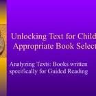 Unlocking Text for Guiding Reading
