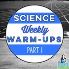 Upper Elementary Science Weekly Warm-Ups