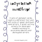Upper and Lowercase Loopy Letter Matchup!