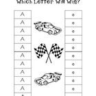 Upper/Lowercase Letter ID, Letter Race