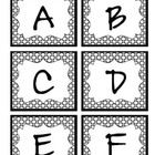 Uppercase Alphabet Letter Cards