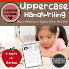 Uppercase handwriting book