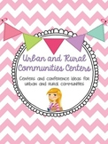 Urban and Rural Community Centers