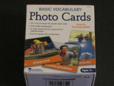 Used Basic Vocabulary Photo Cards