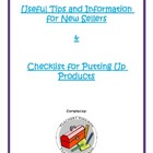 Useful tips / Information / Checklist  for new sellers - c
