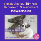 "Spanish uses of ""Se"" from reflexive to non-intentional"