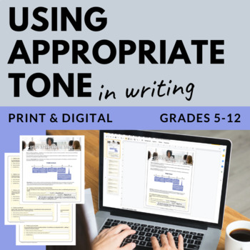 Using Appropriate Tone in Writing