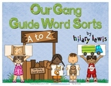 Using Dictionary Guide Words - Our Gang Guide Word Kids