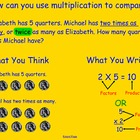 Using Multiplication to Compare