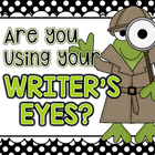 Using My Writer's Eye: I SEE Posters