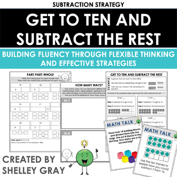 Using Ten: A Mental Math Subtraction Strategy Unit
