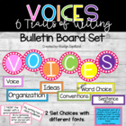 VOICES Six Traits of Writing Bulletin Board FULL Set