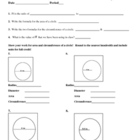 VOLUME OF A CYLINDER worksheet goes with interactive Powerpoint