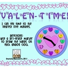 Valentime! Telling Time to the Nearest 5 Minutes