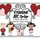 Valentine ABC Order Activity