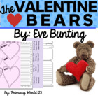 "Valentine Book activities ""The Valentine Bears"" by Eve Bun"