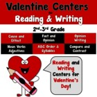 Valentine Centers and Activities Using Reading-Writing-Mat