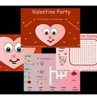 Valentine Day Party Activities For SMARTBoard