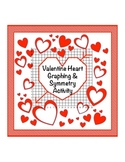 Valentine Heart graph and symmetry activity for coordinate plane