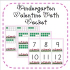 Valentine Math Activities for Kindergarten