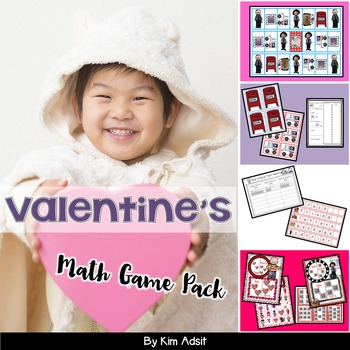Valentine Math Game Pack