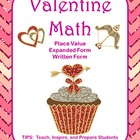 Valentine Math Place Value