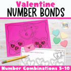 Valentine Number Bonds {Part-Part-Whole Charts}