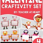 Valentine Pals Craftivity Bundle
