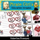 Valentine Pronouns Game