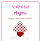 Valentine Rhyme - Rhyming Oddity Literacy Center