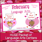 Valentine Sight Words and Word Families (February Learning!)